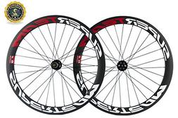 Superteam Carbon Road Bike Wheelset 50mm 700c Clincher Wheel