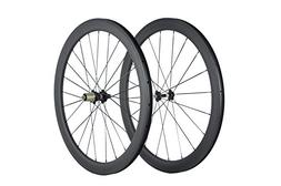 Superteam Carbon Fiber Clincher Road Bike Wheelset 700C25 Ma