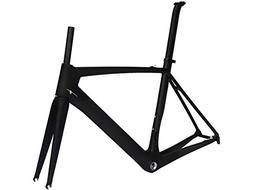 Flyxii Full Carbon UD Matt Road Bike 700C Frameset : Bicycle