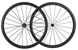 Queen Bike 38mm Carbon Wheelset Clincher Bicycle Wheel Road
