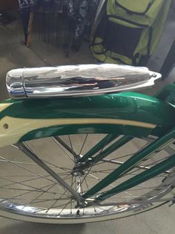 Chrome bicycle light SCHWINN headlight streamline COLUMBIA b