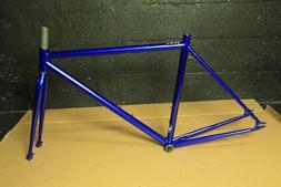 Chromoly Fixed Gear Frameset Track Road Bike Frame and Fork