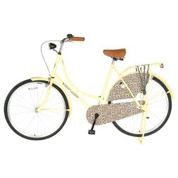 Hollandia City Leopard Dutch Cruiser Bike with Chain Guard a