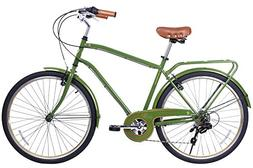 Gama Bikes City 26-Inch Postino 6 Speed Shimano Hybrid Urban
