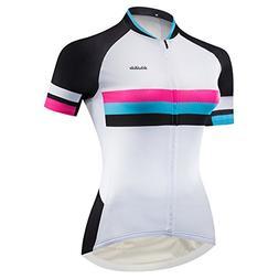 Lo.gas Classic Girls Bike Jersey Summer Road/MTB Cycling Jer