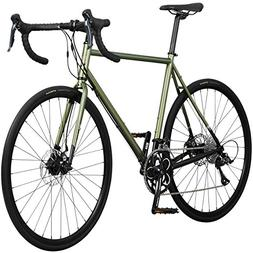 Pure Cycles Classic 18-Speed Disc Road Bike, 60cm/XX-Large,