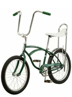 Classic Schwinn Green Sting-Ray Banana Seat Bike - New