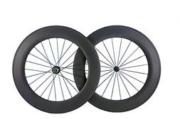 Queen Bike 88mm Clincher Wheels Carbon Wheelset for Road Bik
