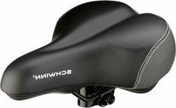 Schwinn Comfort Bike Seat Gel Black Saddle Wide