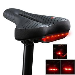 Yopoon Comfort Bike Seats with Built-in Tail Light for Men W