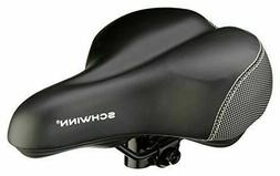 Schwinn Comfort Cruisers Bike Seat Gel Black Saddle Wide Sup