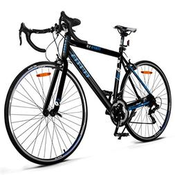 Goplus Commuter Bike Road Bike Quick Release Aluminum 700C S