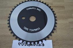 Compact Disc CD ChainRing 44t Silver Black BMX Cruiser Road