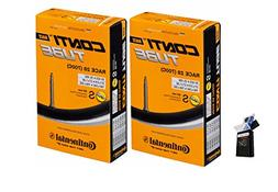 Continental 60mm Presta Valve Bicycle Tube Pack of 2