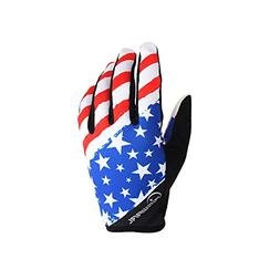 Cool Men's Women's Road Cycling Bikes American Flag Full