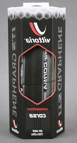 Vittoria Corsa G+ Competition 700 x 25 Black Anthracite 320