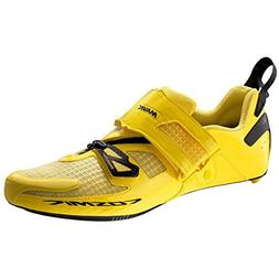 Mavic Cosmic Ultimate Tri Shoes - Men's Yellow Mavic/Black,
