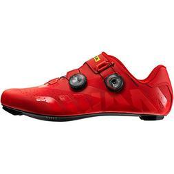 Mavic Cosmic Pro Shoe - Men's Fiery Red/Fiery Red/Black, US