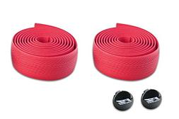 PZ Racing CR403HT Silicone Road Handlebar Tapes, Red