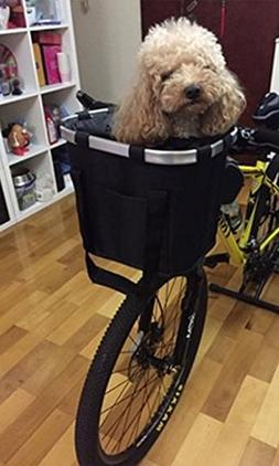 Crazystone's Dog Outdoor Travel Foldable Bicyle Basket 600D