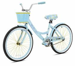 "Cruiser Bike 24"" La Jolla Girls Aluminum Frame Beach Sports"