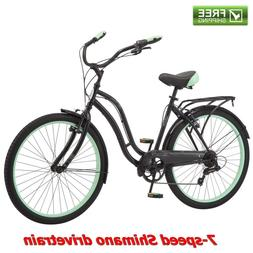 "Schwinn Cruiser Bike Women's 26""Commuter Comfort City Be"