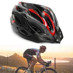 cycling bicycle adult mens bike helmet red