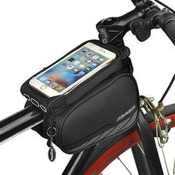 Spotact Cycling Frame Cell Phone Bag, Bike Front Top Tube Pa