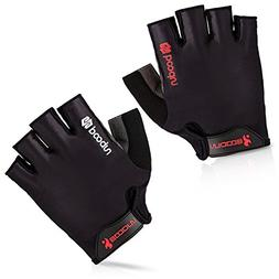 BOODUN Cycling Gloves with Shock-absorbing Foam Pad Breathab
