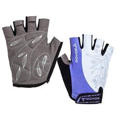 Cycling Gloves Women Half finger Extra Padding Cycling Glove