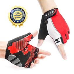 Zookki Cycling Gloves Mountain Bike Gloves Road Racing Bicyc