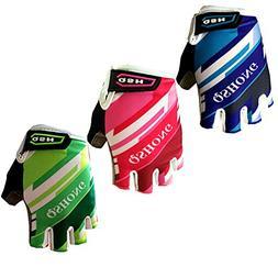 FINGER TEN Kids Junior Cycling Gloves Outdoor Sport Road Mou