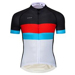 Lo.gas Men's Pro Cycling Jersey Light Breathable Moisture Wi