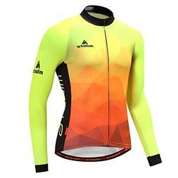 Uriah Men's Cycling Jersey Long Sleeve Reflective Fluorescen
