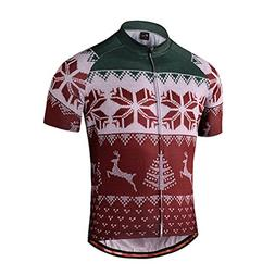 Nawing Cycling Jersey Men Love Christmas Quick Dry Mens Bicy