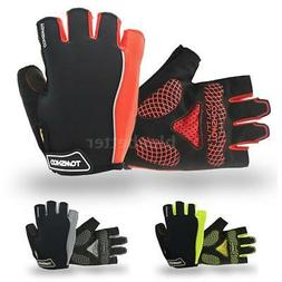 Cycling Road Bike Gloves Gel Bicycle Cycle Half Finger Mitte