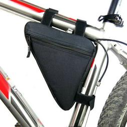 Cycling Road Bike MTB Bicycle Front Tube Bags Zipper Storage