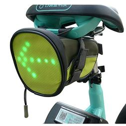 FANCYWING LED Cycling Saddle Bag/Bicycle Underseat Bag w/Ref