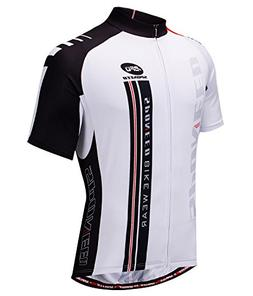 Cycling Tshirt for Men Bicycle Jersey with Pockets Full Zip