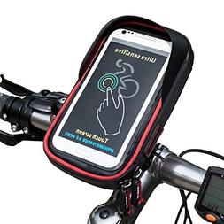 Cycling Top Tube Bag WHEEL UP Phone Mount Holder Bicycle Bag