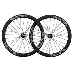 ICAN Carbon Wheelset 50mm Clincher Cyclocross Bike Disc Brak