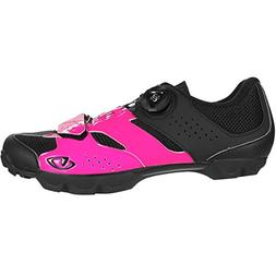 Giro Cylinder Cycling Shoes - Women's Bright Pink/Black 42