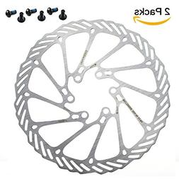 CYSKY 160mm Disc Brake Rotor 6 Bolts Stainless Steel Bike Di
