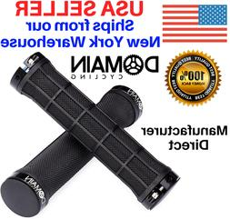 Double Lock-On Bike Grips Mountain Bicycle Handlebars MTB -