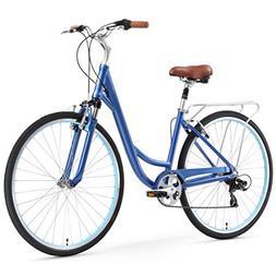 sixthreezero Body Ease Women's 7-Speed Comfort Road Bicycle,