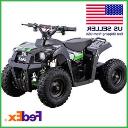 Electric ATV Mini Kids MotoTec 500w Monster 4 Wheel 36v Batt