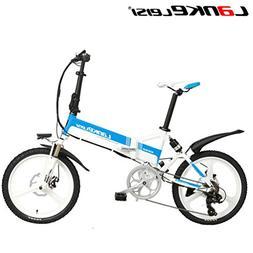 LANKELEISI Electric bike G550-20 Inch 48 V/240 W 10 AH Lithi