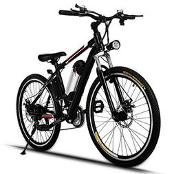 ThinIce Electric Mountain Bike with 36V Removable Lithium-Io