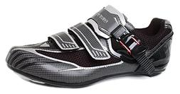 Gavin Elite Road Cycling Shoe Black/Grey 40 EU