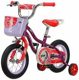 """Schwinn Elm Girl's Bike with SmartStart, 18"""" Wheels, Purple"""
